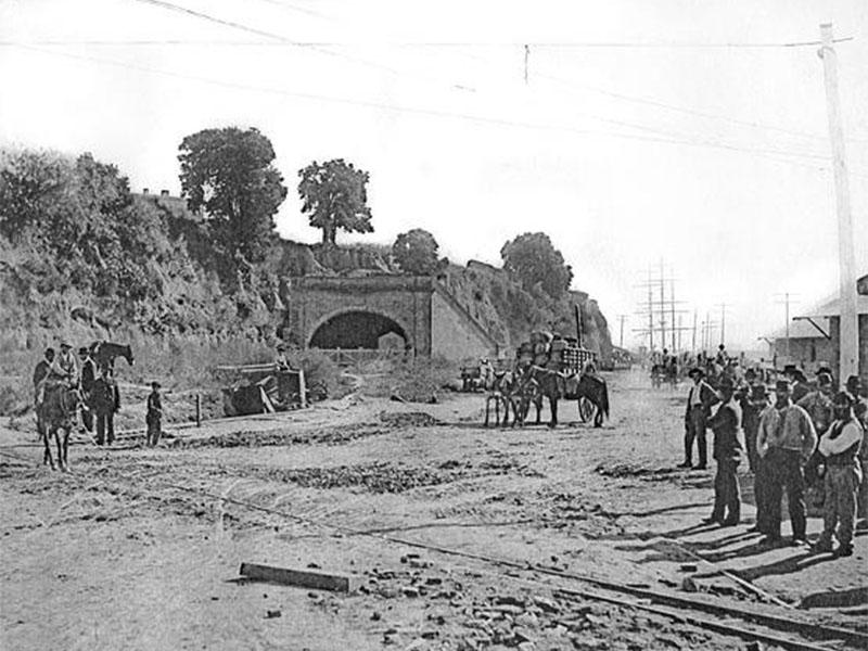 Tunel Arturo Illia En Sus Primeros Anos