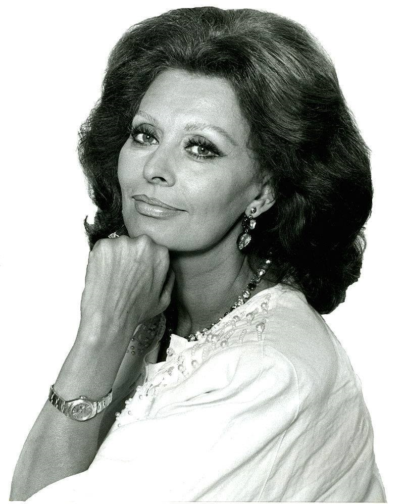 al cinema! - Sophia Loren
