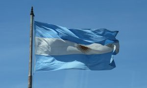 Revolucion De Mayo en Rosario - Bandera Argentina