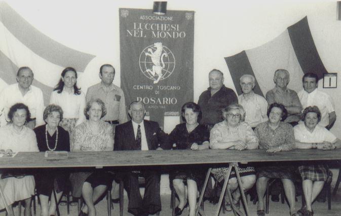 Centro Toscano de Rosario -Comision 1978