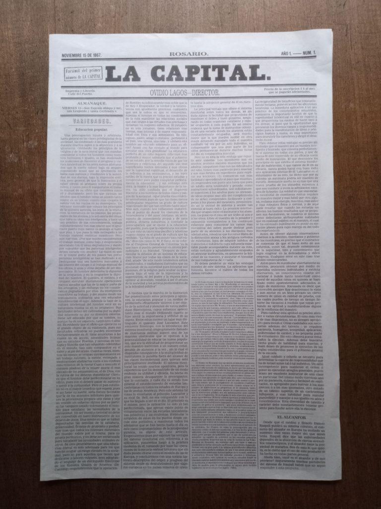 La Capital - Facsimil De La Capital