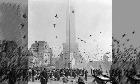 El Día de la Bandera y la inauguración del Monumento - Monumento