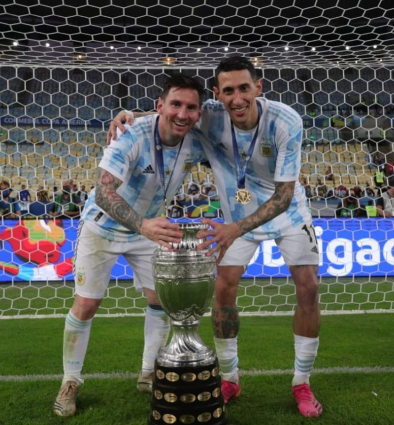 Di María - Angel Y Messi