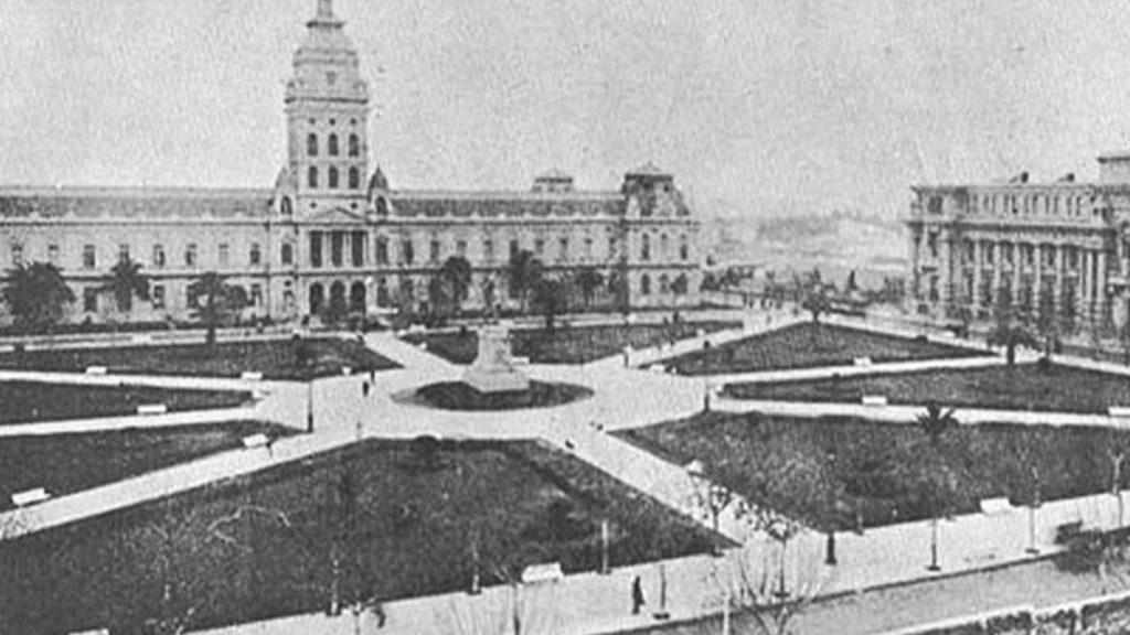 Plaza San Martin Primeros Años