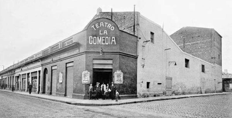 Juan Bautista Massa - Teatro La Comedia