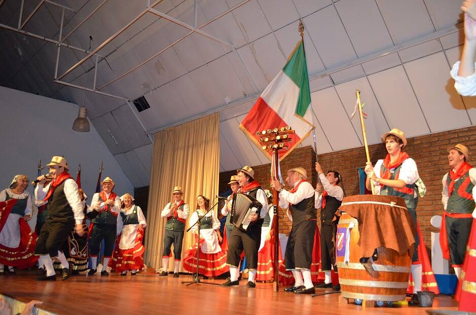 Orquesta típica - Actuación Cuore Sannita