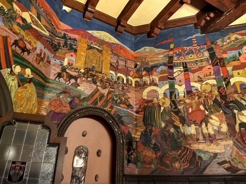 Ángel Guido - Mural De Alfredo Guido