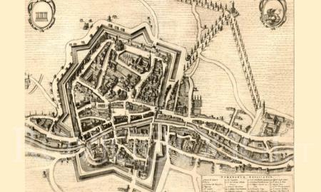 Castello di Rovigo mappa antica