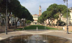 La Chiesa della rotonda vista dalla piazza antistante recentemente ristrutturata