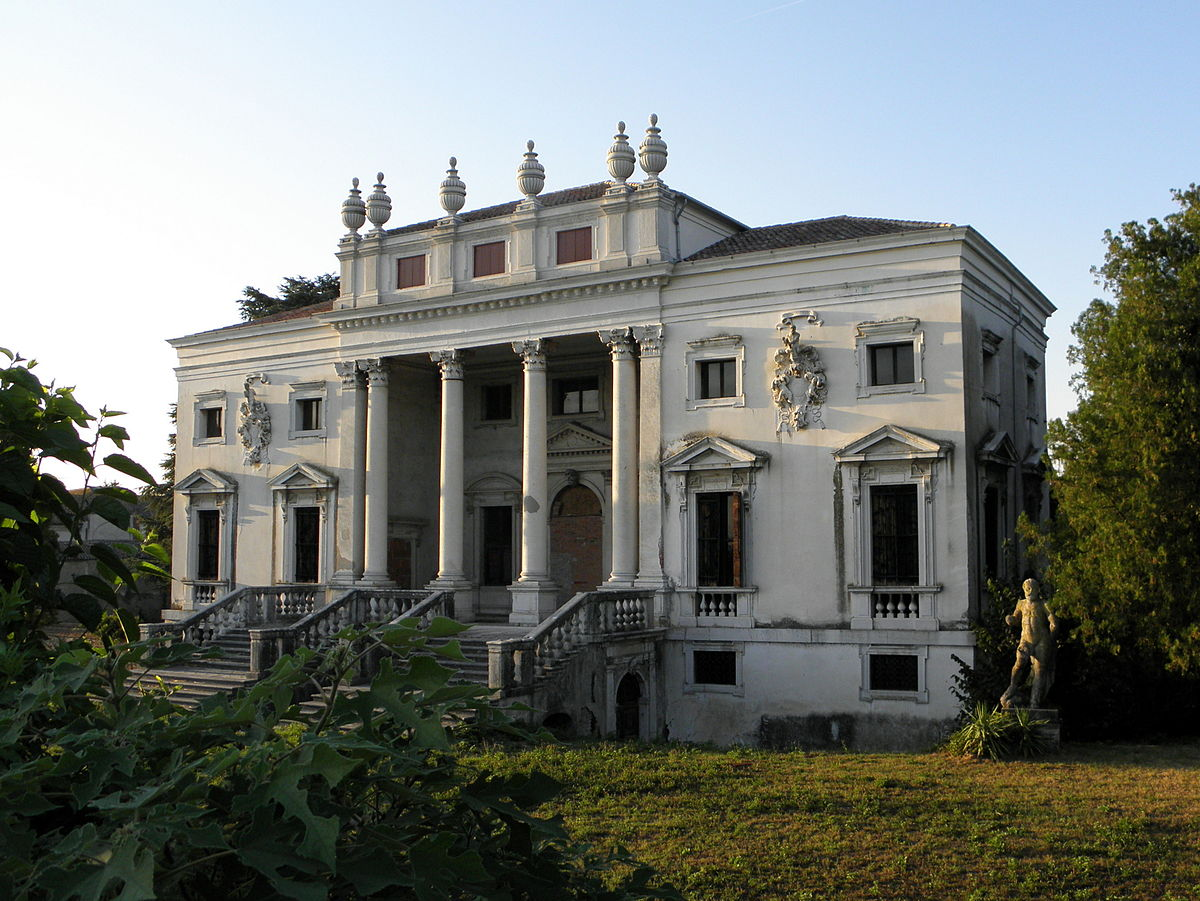 Villa Nani Mocenigo dove andò a vivere la contessa triste