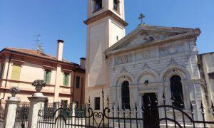 La facciata della Chiesa del Cristo a Rovigo