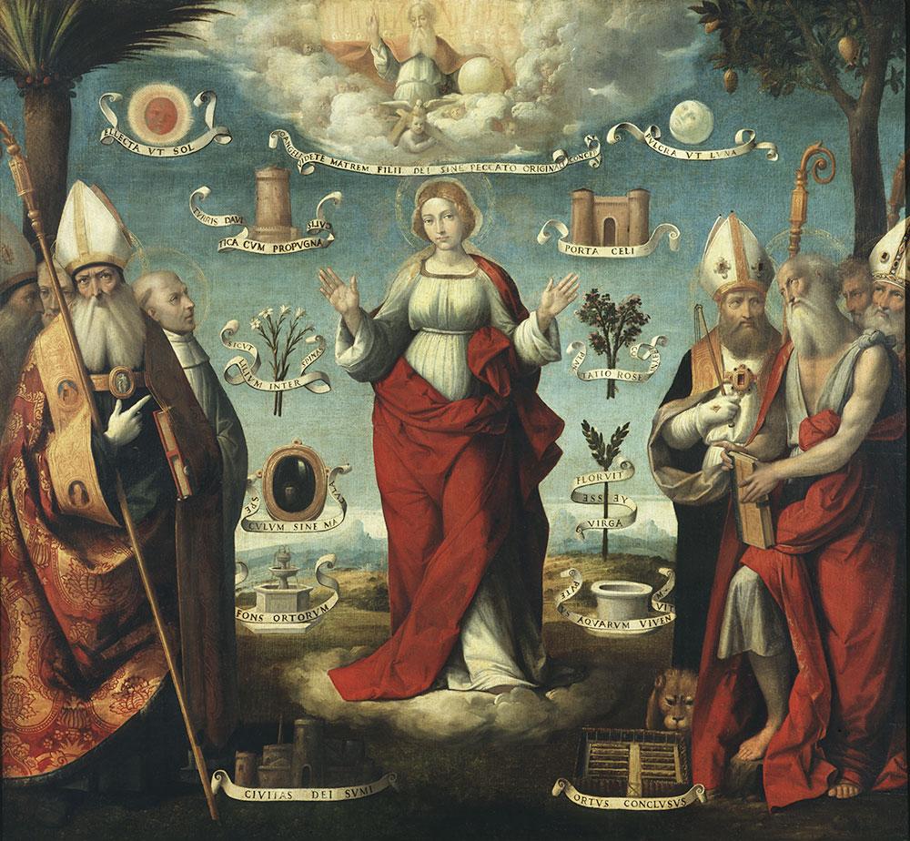 Immacolata Concezione ed il rito dell'Infiorata a Rovigo