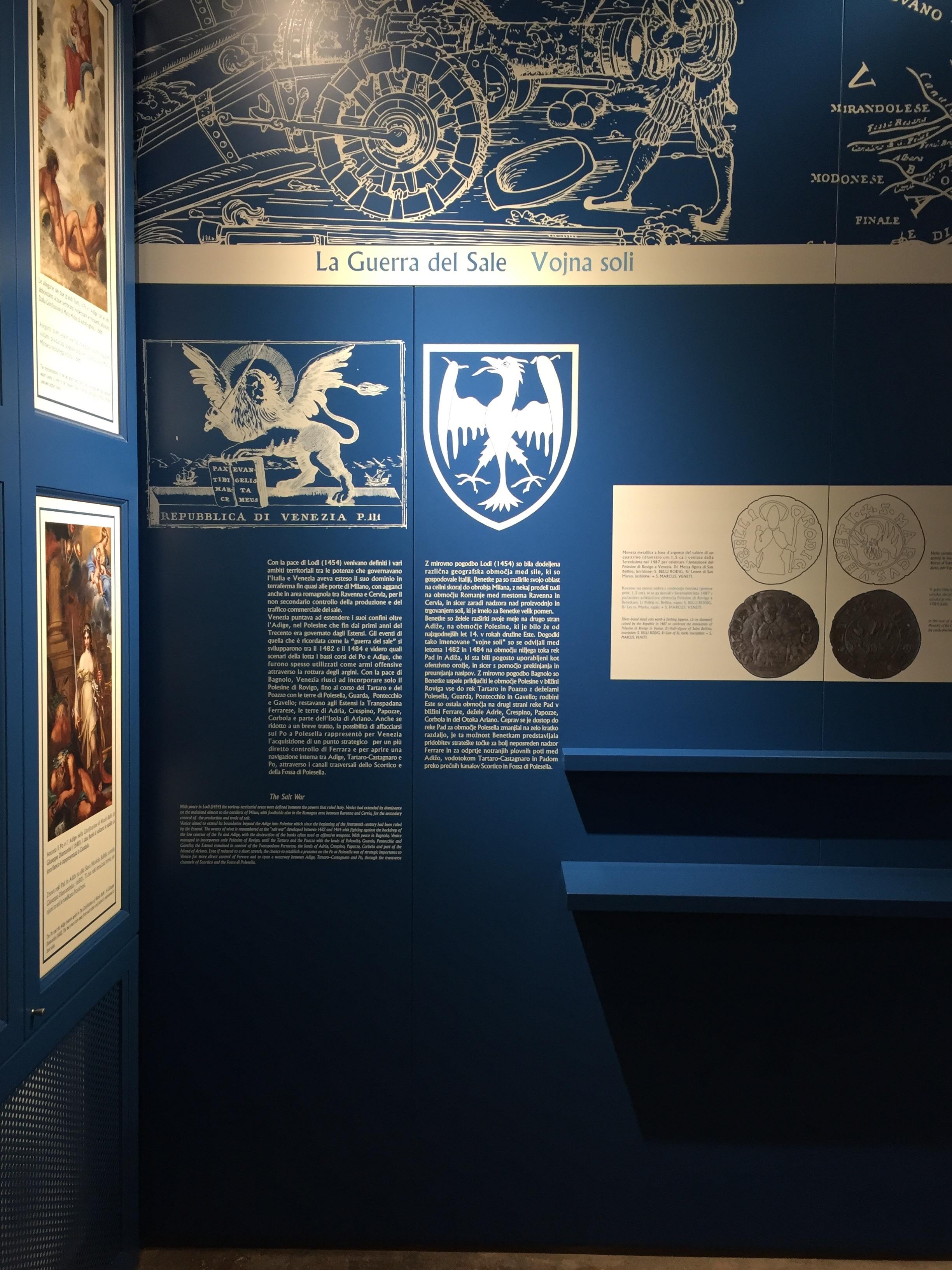 Museo dei Grandi Fiumi Rovigo ultima sala