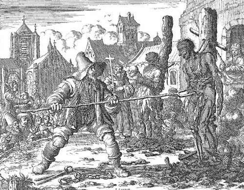 Persecuzione e tortura al credente anabattista