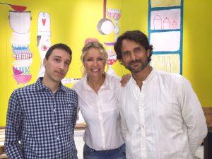 Marco Gottardo con Licia Colò