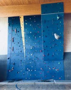 parete per arrampicata