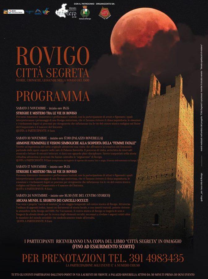 Streghe e misteri - Rovigo città segreta