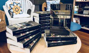 """Il nuovo romanzo di Andrea Cotti """"Il CInese"""" alla Libreria La Magnolia"""