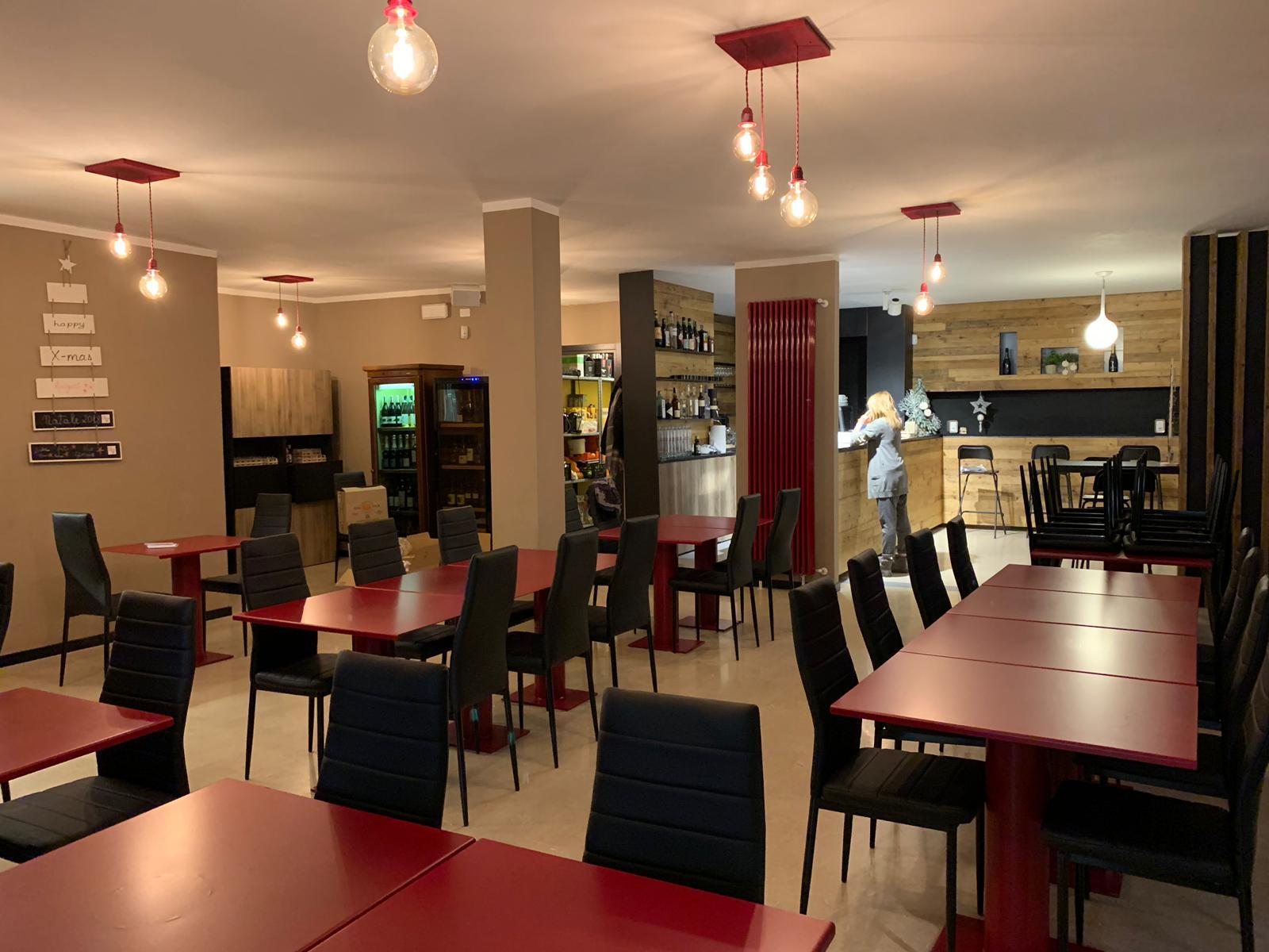 La sala del ristorante Per Belloni 24 Due a Rovigo