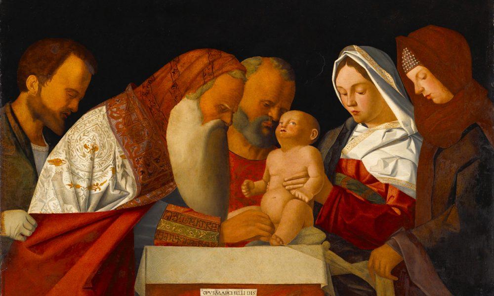 Uno dei prestigiosi dipinti della Pinacoteca Accademia dei Concordi