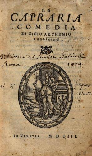 Gigio Artemio Giancarli, la Capraria ph Abebooks