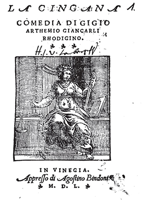 Gigio Artemio Giancarli, la Zingana ph tpo