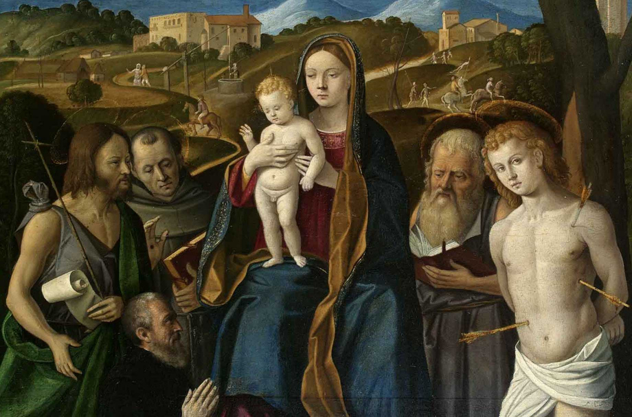 Un dipinto del Santacroce custodito presso la pinacoteca