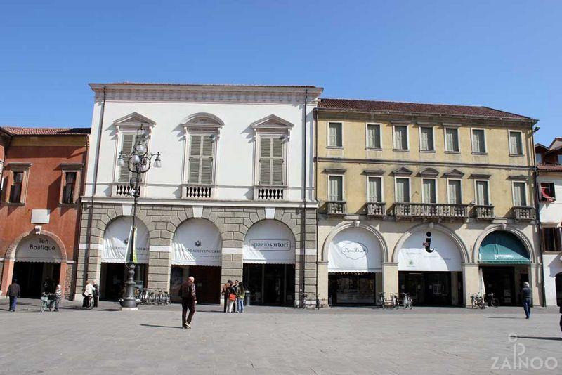 La sede dell'Accademia dei Concordi, primo sito della pinacoteca