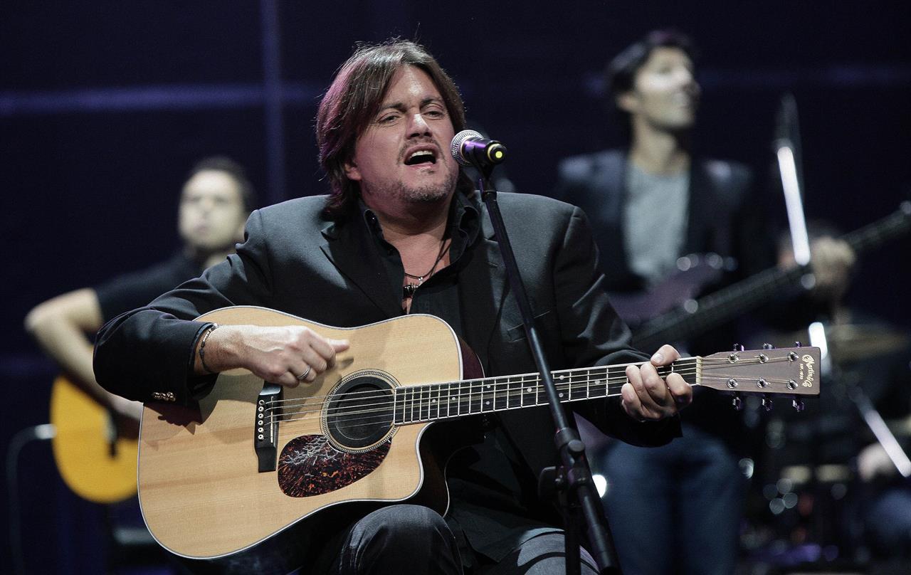 Cristiano de Andrè sul palco