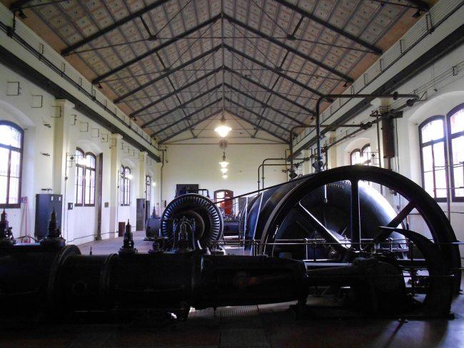 Una delle sale del Museo regionale della bonifica di Ca' Vendramin