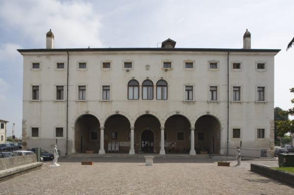 Museo della centuriazione romana che ha sede presso villa Patella