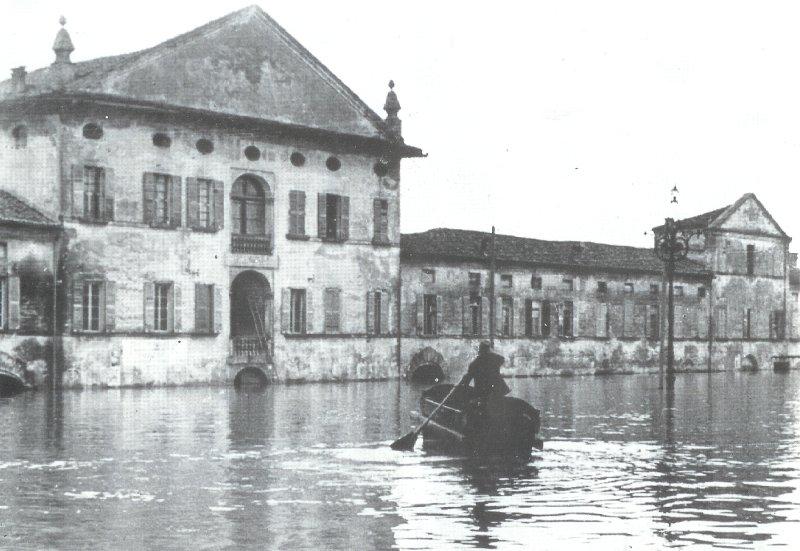 Immagine Alluvione Causata Dall'estrazione Del Metano Del 1951 Ph No All'italia Petrolizzata