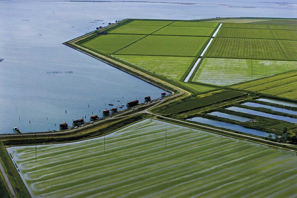 Immagine Del Delta Del Po, Dove è Vietata L'etrazione Del Metano Ph Il Giornale Del Po