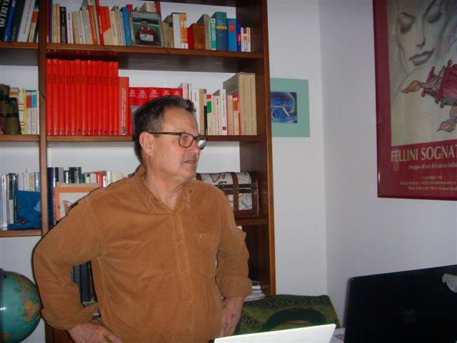 Gianni Vidali, autore del libro l'Argine racconta