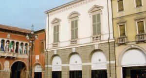Vista del palazzo che ospita l'Accademia dei Concordi