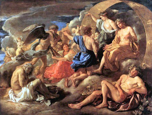 Un dipinto di Fetonte, il cui mito ricorre nella storia del Delta del po