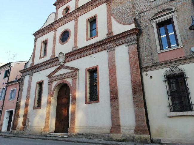 La chiesa di Sant'Agostino da cui la Porta ha preso il nome