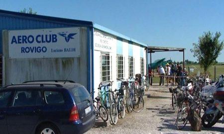 La club house dell'Aero club luciano baldi
