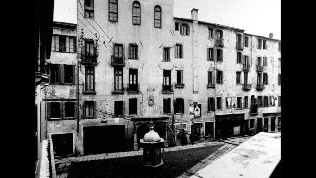Una vista del Ghetto di Rovigo