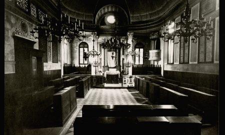 Una foto della sinagoga del Ghetto di Rovigo