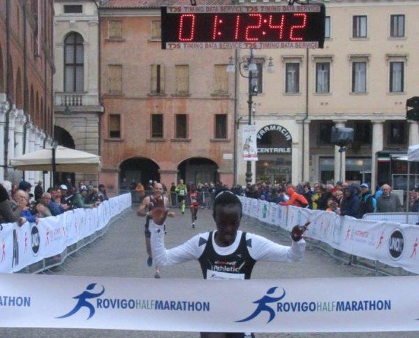 La vincitrice della Rovigo Half Marathon