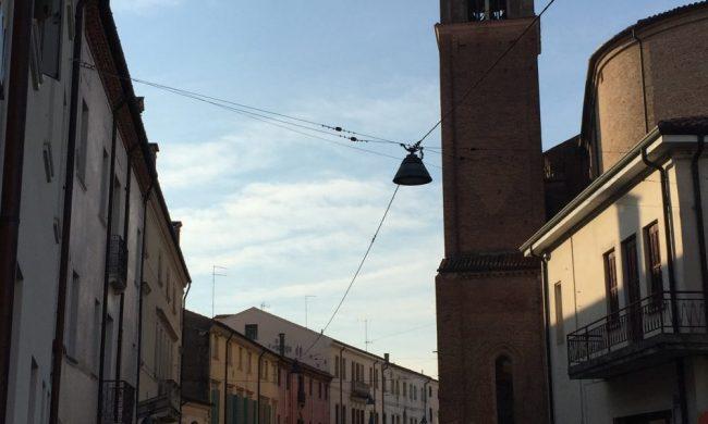 Via Silvestri, sede di Palazzo Silvestri, molto importante durante la dominazione estense