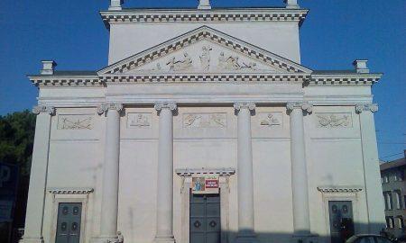 La chiesa di San Francesco, importante durante la dominazione estense