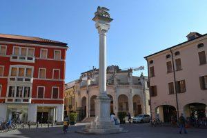 Il leone simbolo della Dominazione veneziana a Rovigo