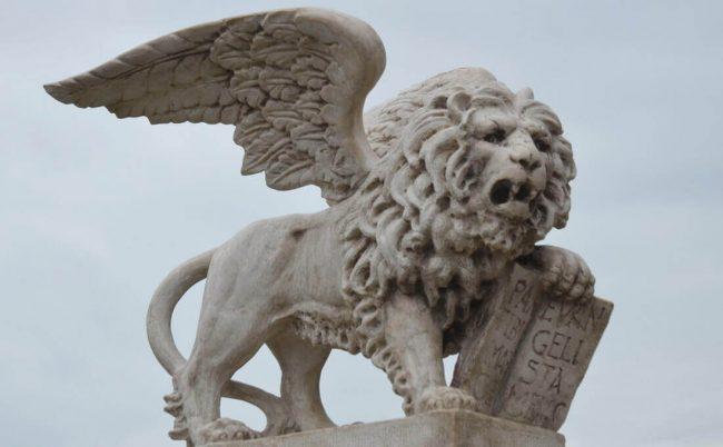 Il leone simbolo della Dominazione veneziana
