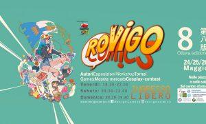 Il manifesto di Rovigo comics 2019