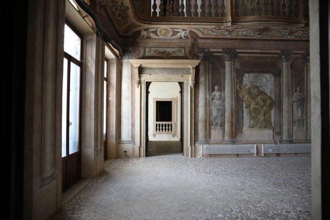 Palazzo Angeli, costruito durante l'Ultima parte della dominazione veneziana