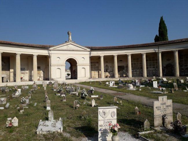 Il nuovo cimitero di Rovigo, costruito durante la seconda parte della dominazione austriaca