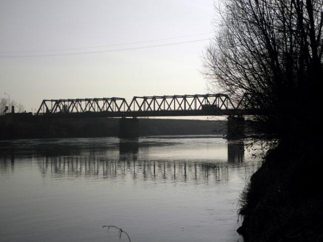 Il ponte di Boara , nominato ne la terza parte della dominazione austriaca