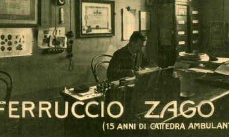 Immagine di Ferruccio Zago alla sua scrivania